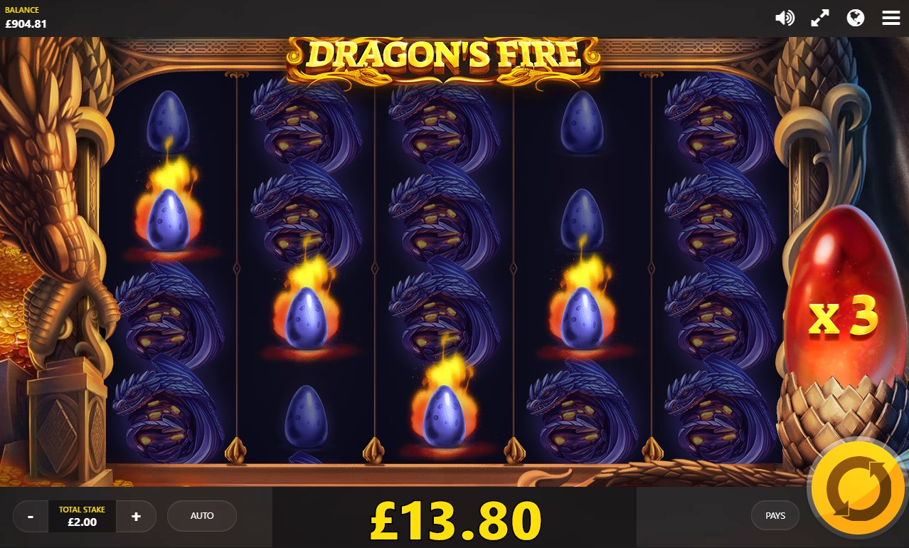 Dragon's Fire Slots Game