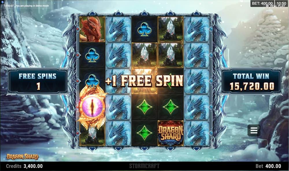 Dragon Shard Free Spins Slots