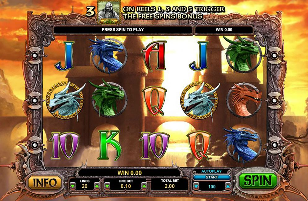 Dragon Online Slot Game