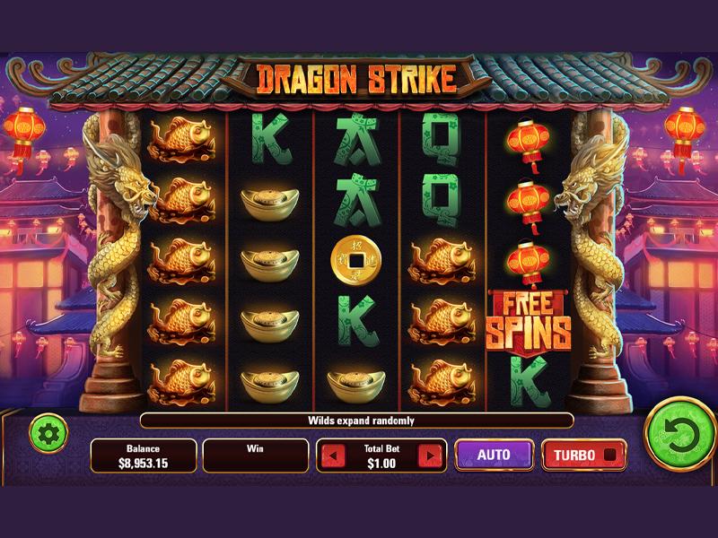 Dragon Strike Slots Game