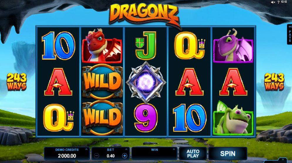 Dragonz Slots Games
