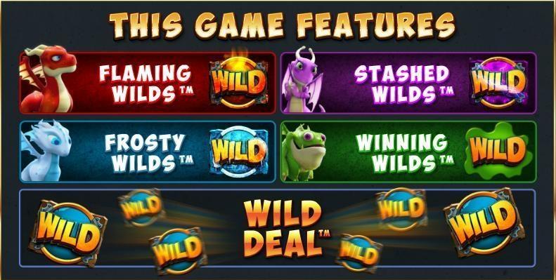 Dragonz Slots Bonus Games