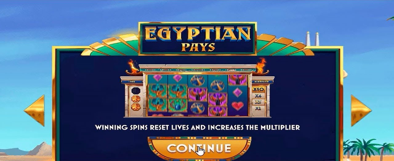 Egyptian Pays Slots Online