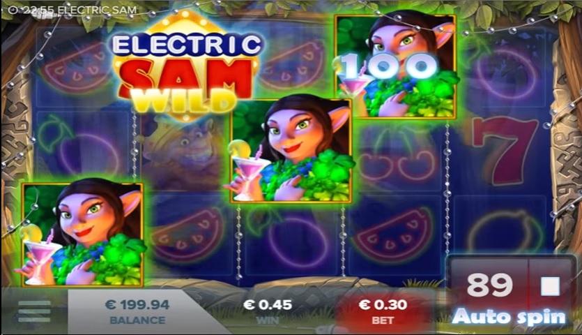Electric Sam Slot Online