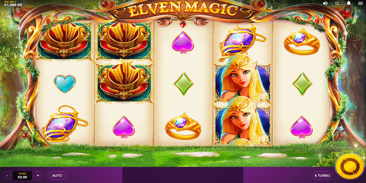 Elven Magic Slots Game