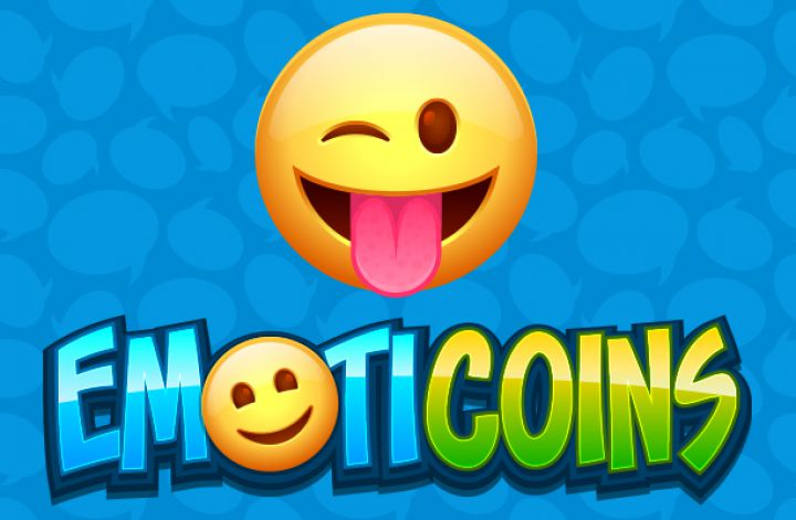 Emoticoins slot game logo
