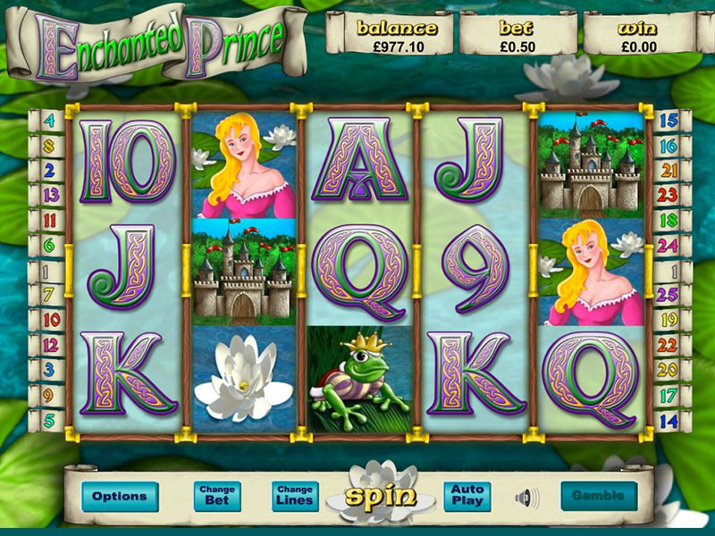 Enchanted Prince casino gameplay