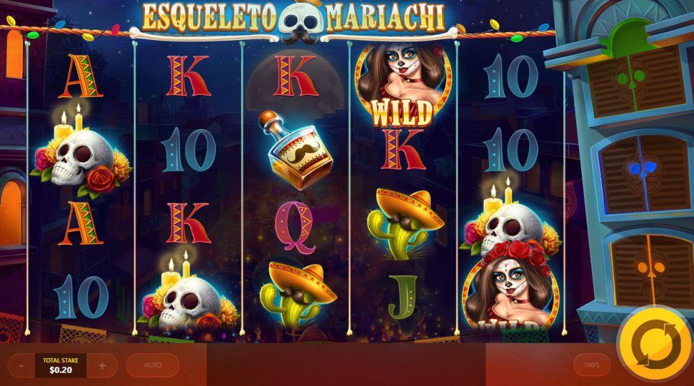 Esqueleto Mariachi Slots Online