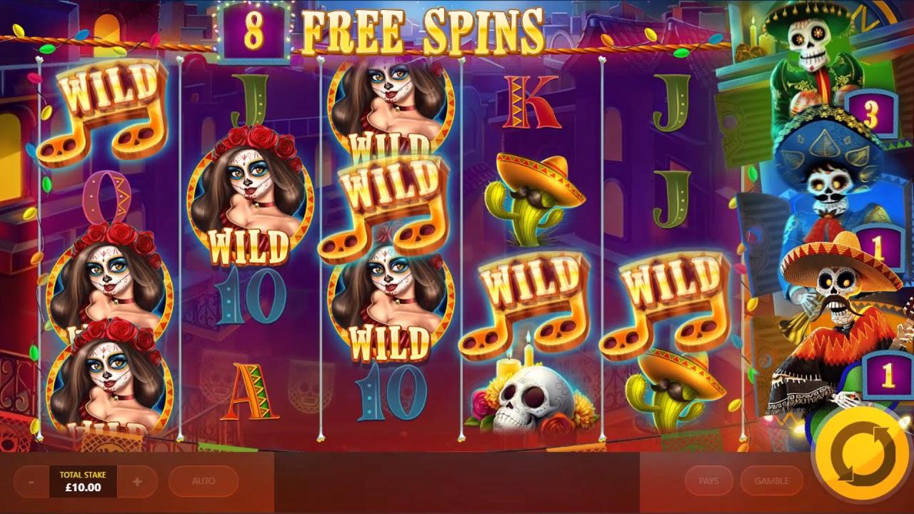 Esqueleto Mariachi Slot games