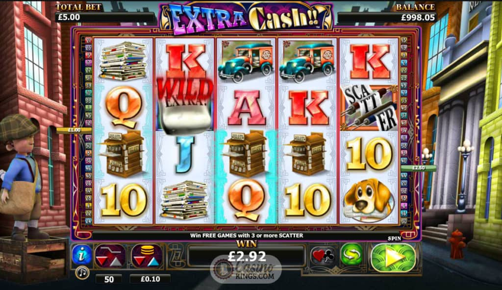 Extra Cash Slots Game