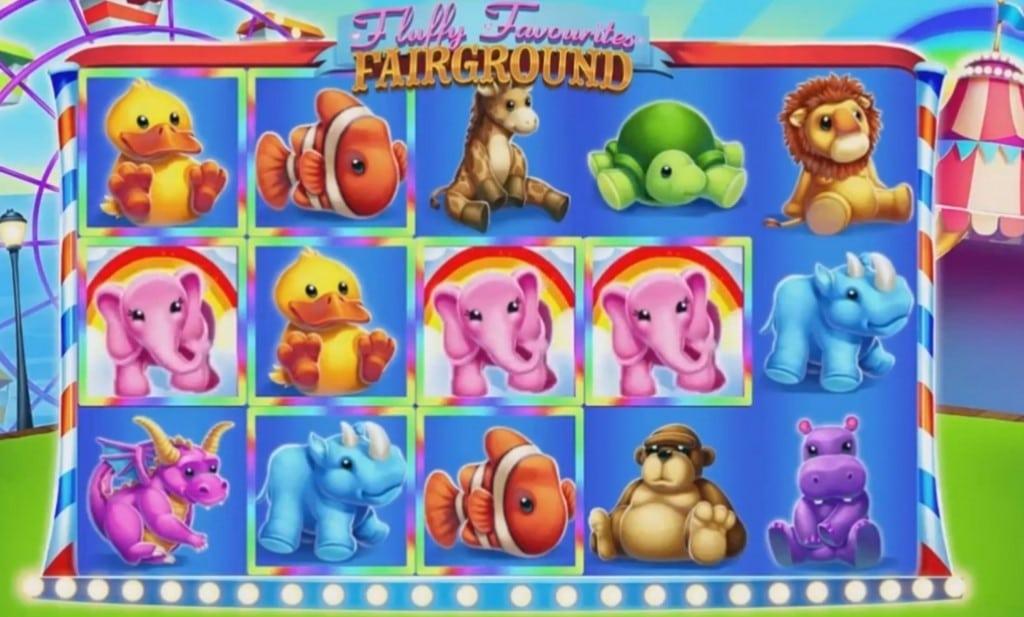 Fluffy Favourites Fairground Slots Game