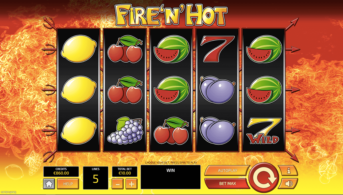 fire n hot slot gameplay