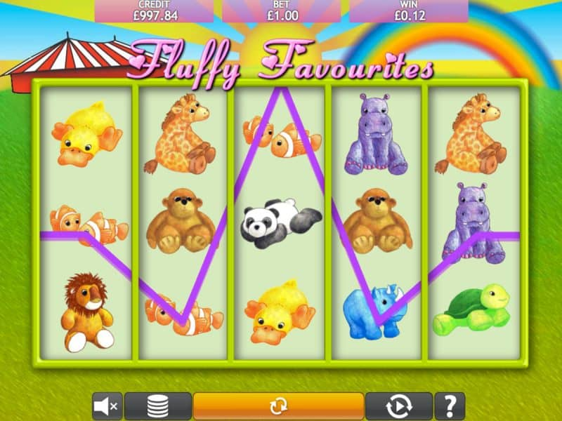 Fluffy Favourites Slot games