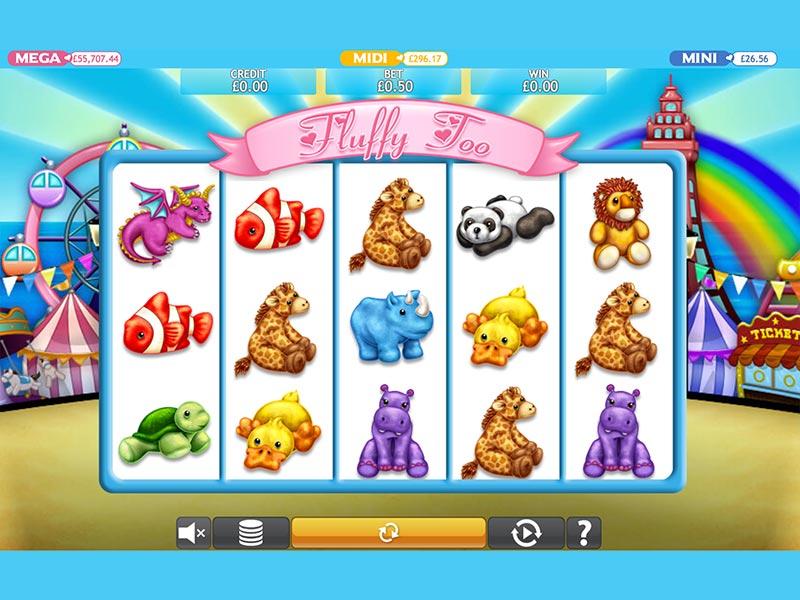 Fluffy Too Mega Jackpot Slots Game