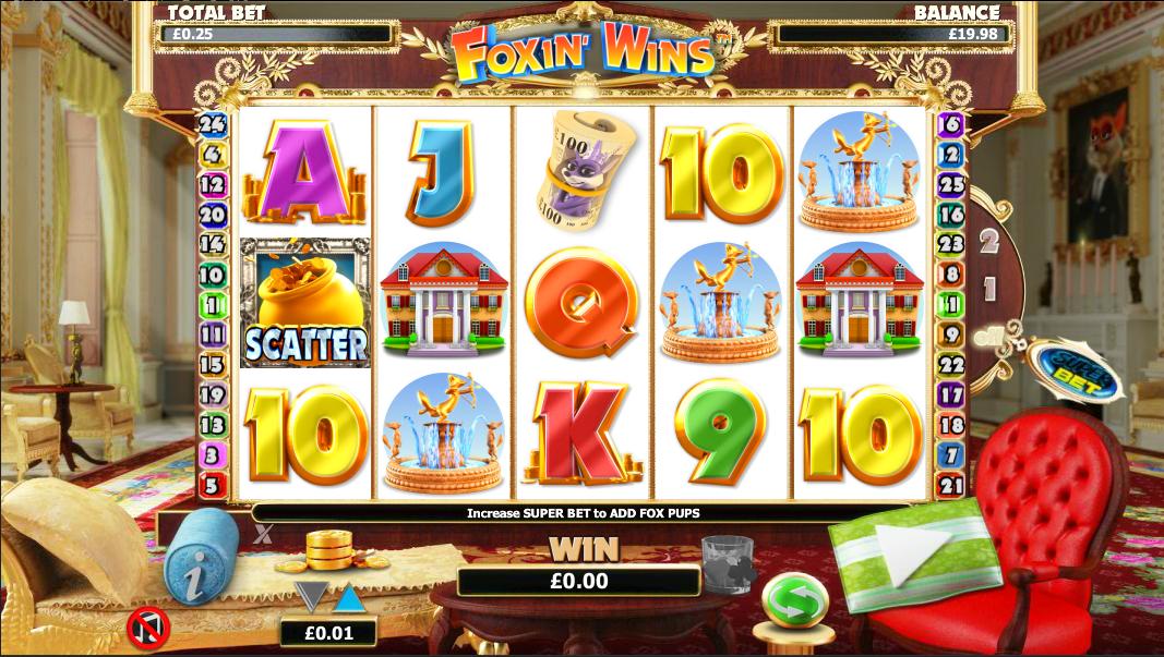 Foxin Wins Slots Online