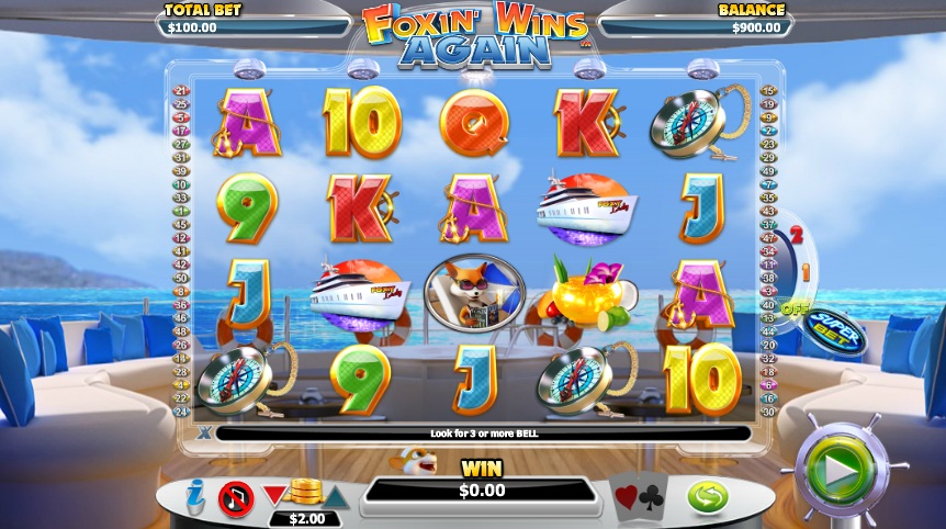 Foxin' Wins Again Slots Gameplay