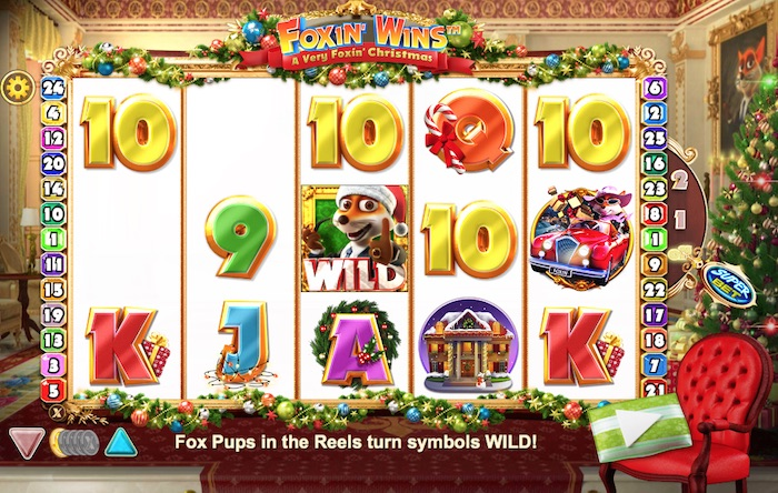 Foxin' Wins Christmas Slot Gameplay