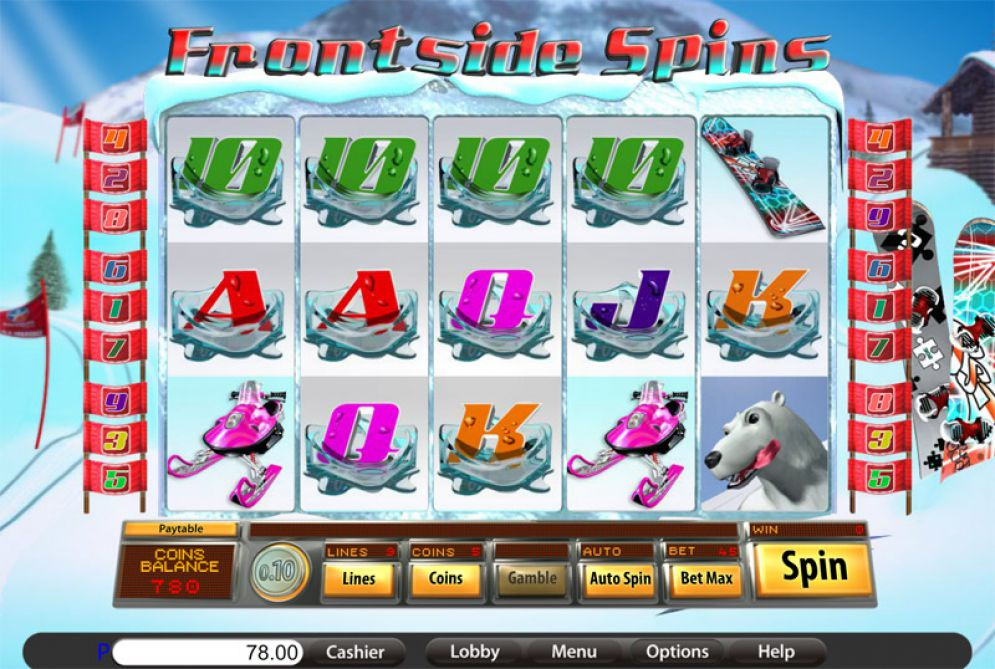Frontside Spins Slots Game