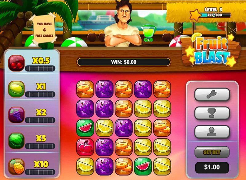 Fruit Blast Slots Game