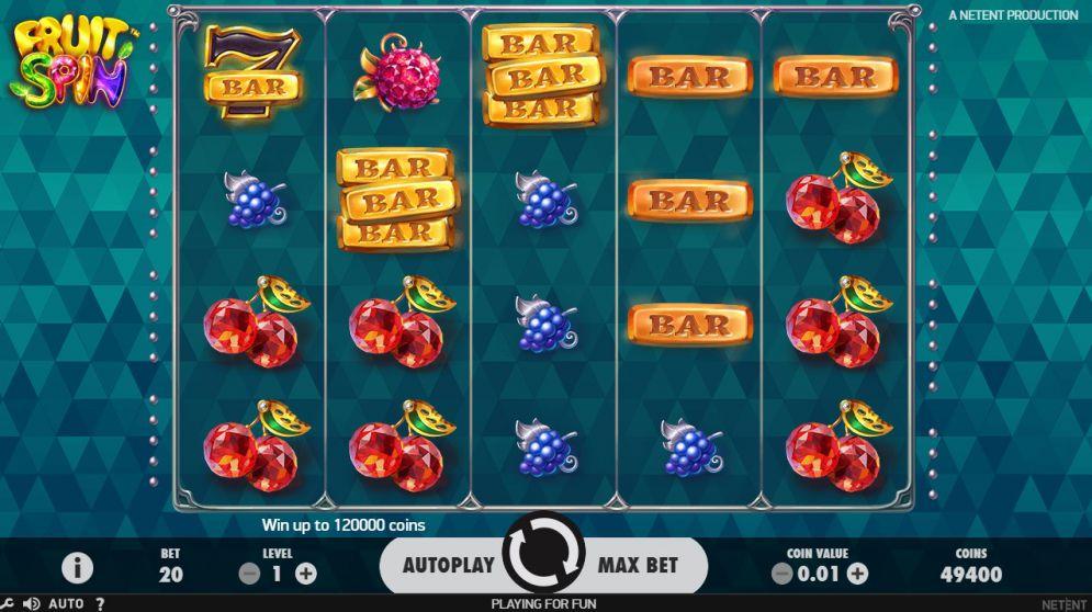 Fruit Spin Slots Game