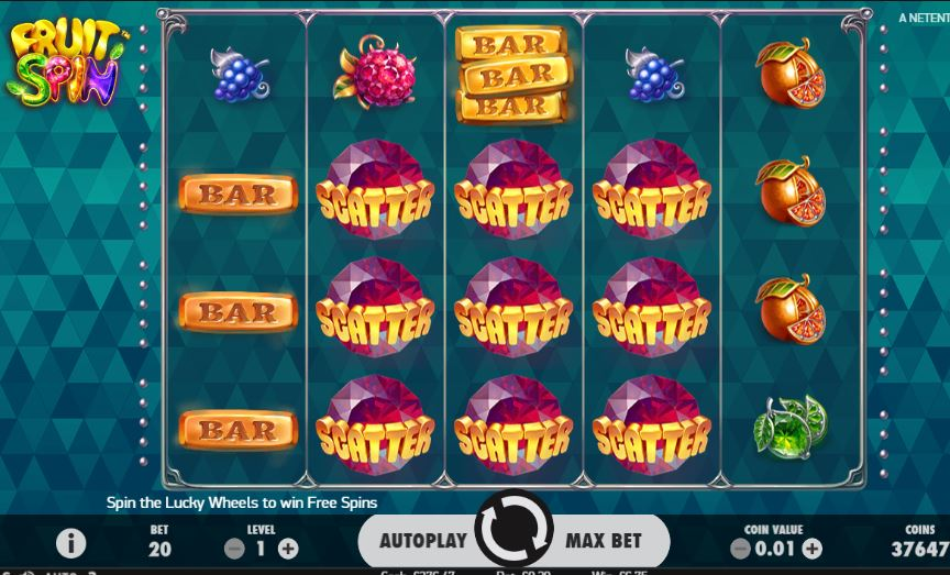 Fruit Spin Slot Online