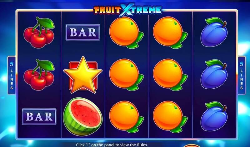 Fruit Xtreme: 5 Lines Casino Game