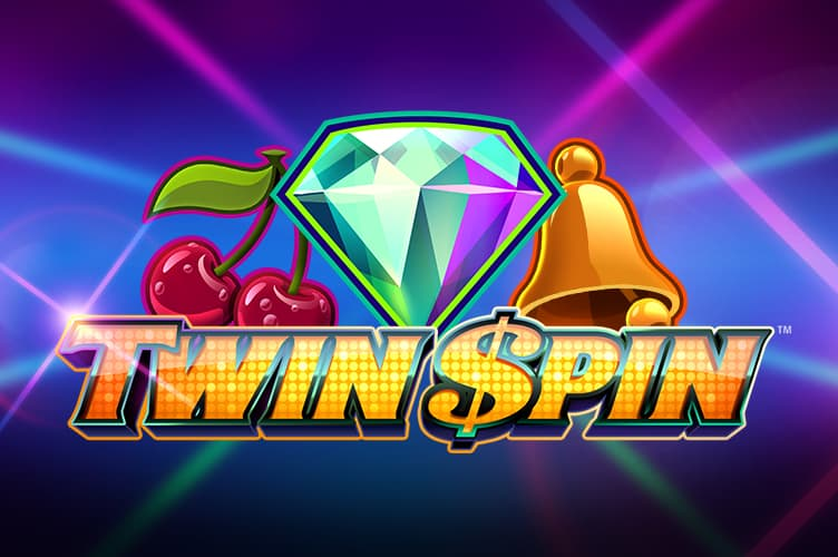 Twin Spin online slot logo