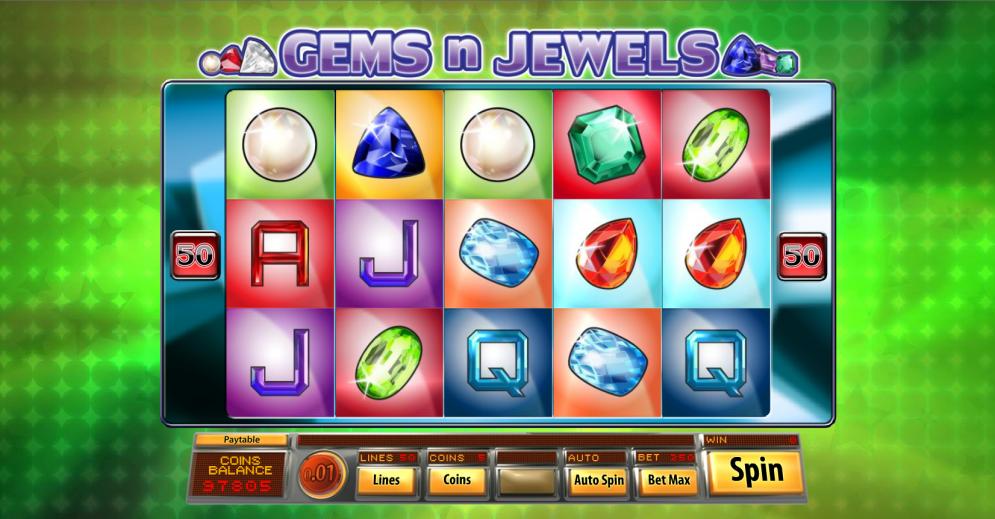 Gems N Jewels Free Slots