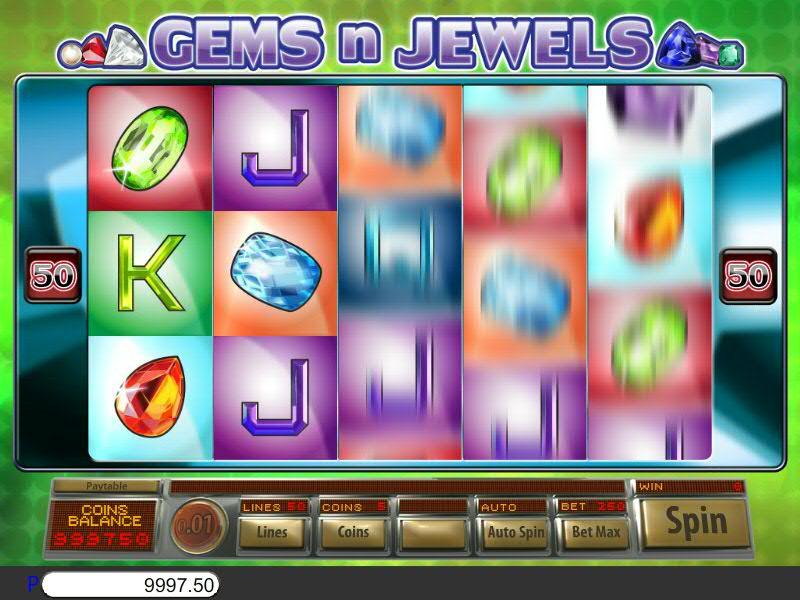 Gems N Jewels Slot Game
