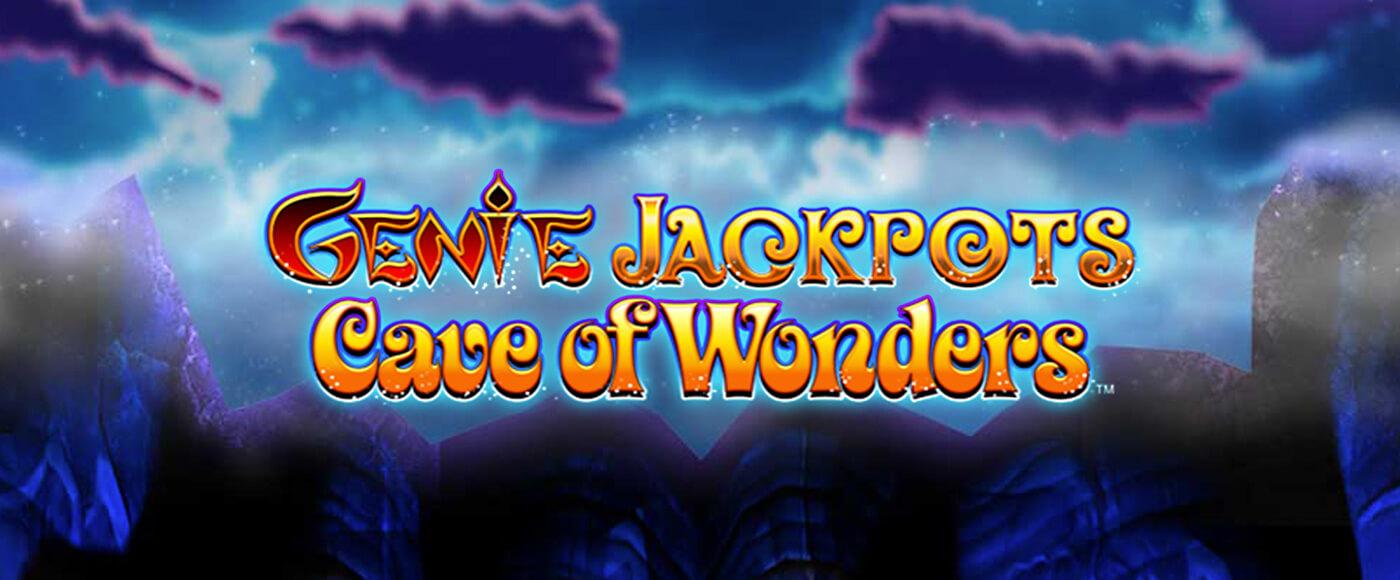 Genie Jackpots Cave Of Wonders Slot Logo Umbingo