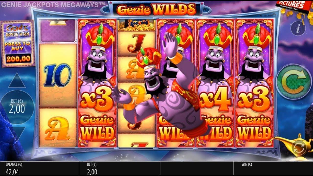 Genie Jackpots Megaways Slots Reels