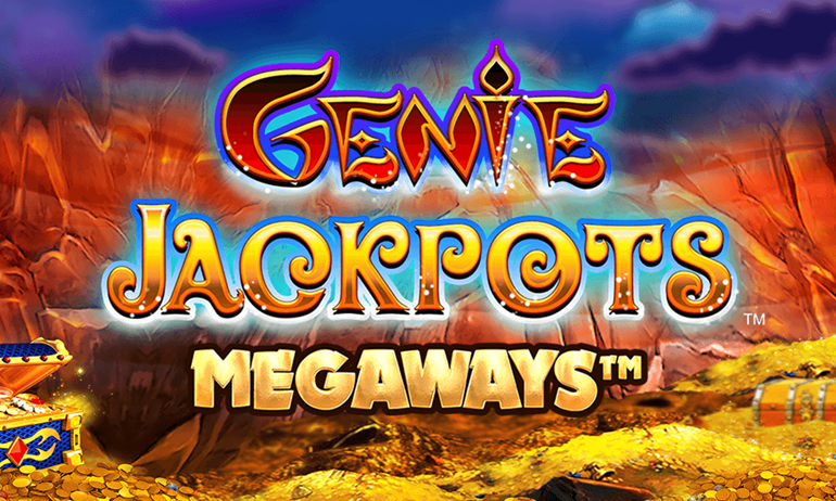 Genie Jackpots Megaways Slot Logo Umbingo
