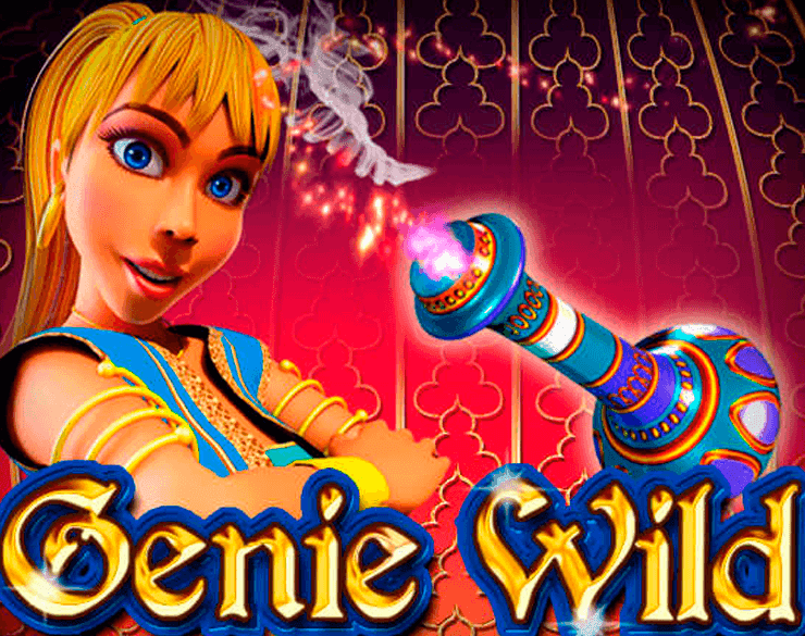 Genie Wild Slot Logo Umbingo