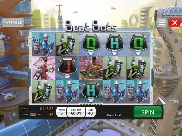 Beat Bots Slot Game