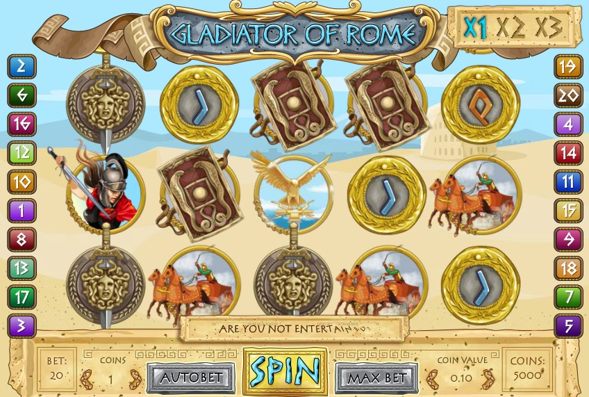 Gladiator of Rome Slots Online