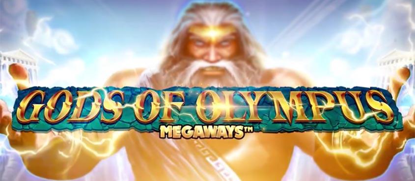 Gods Of Olympus Megaways Slot Logo Umbingo