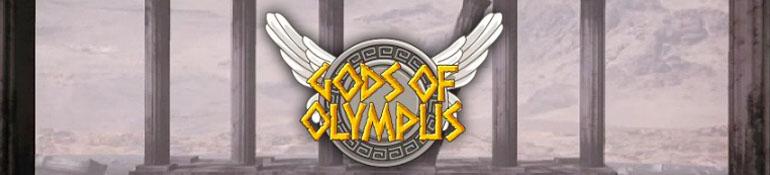 Gods of Olympus Slot Logo Umbingo