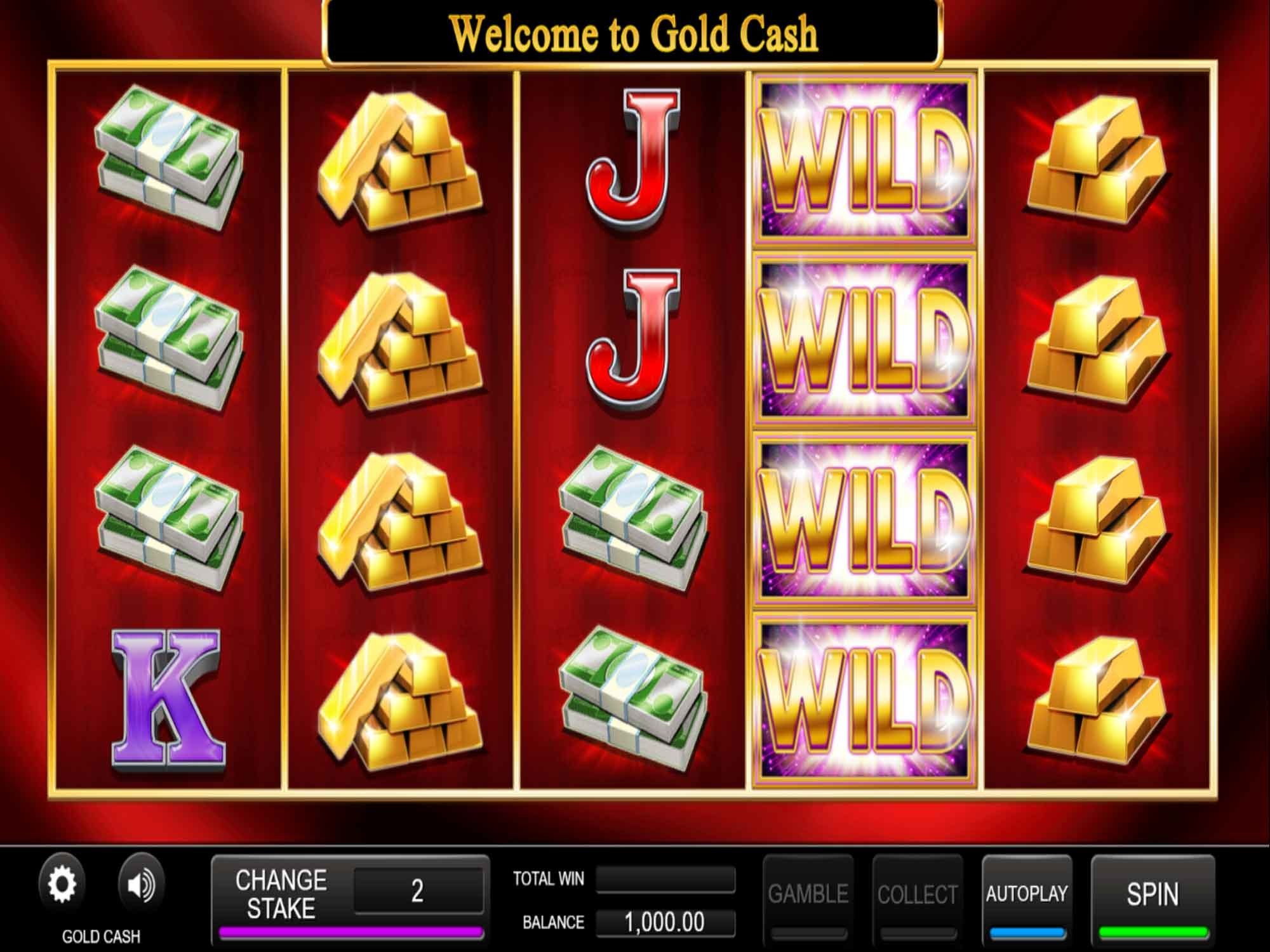 Gold Cash Slot Game