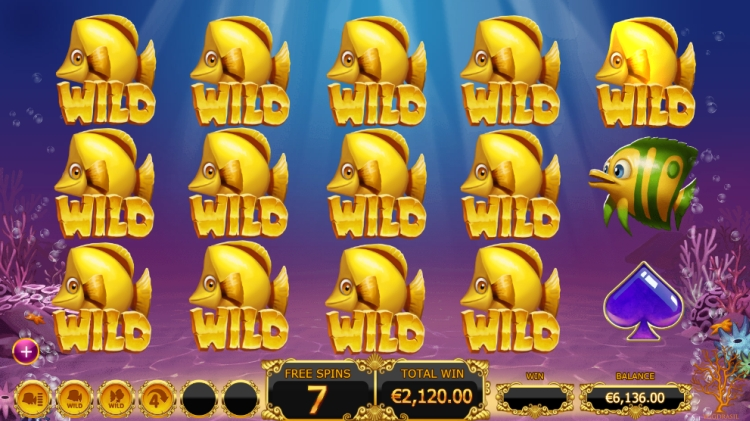 Golden Fishtank Slot Wild