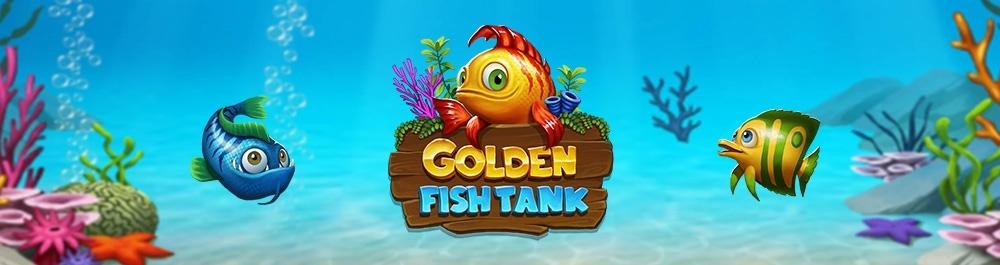 Golden Fishtank Slot Logo Umbingo