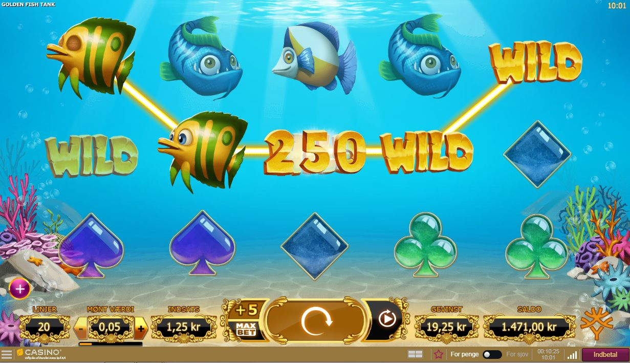 Golden Fishtank Slots Reels