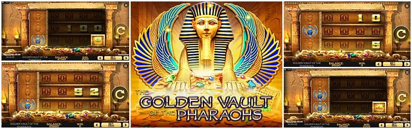 Vault pharaohs