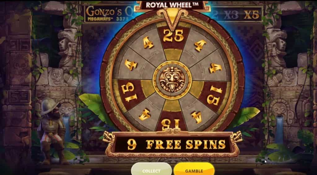 Gonzo's Quest Megaways Free Spins Slots
