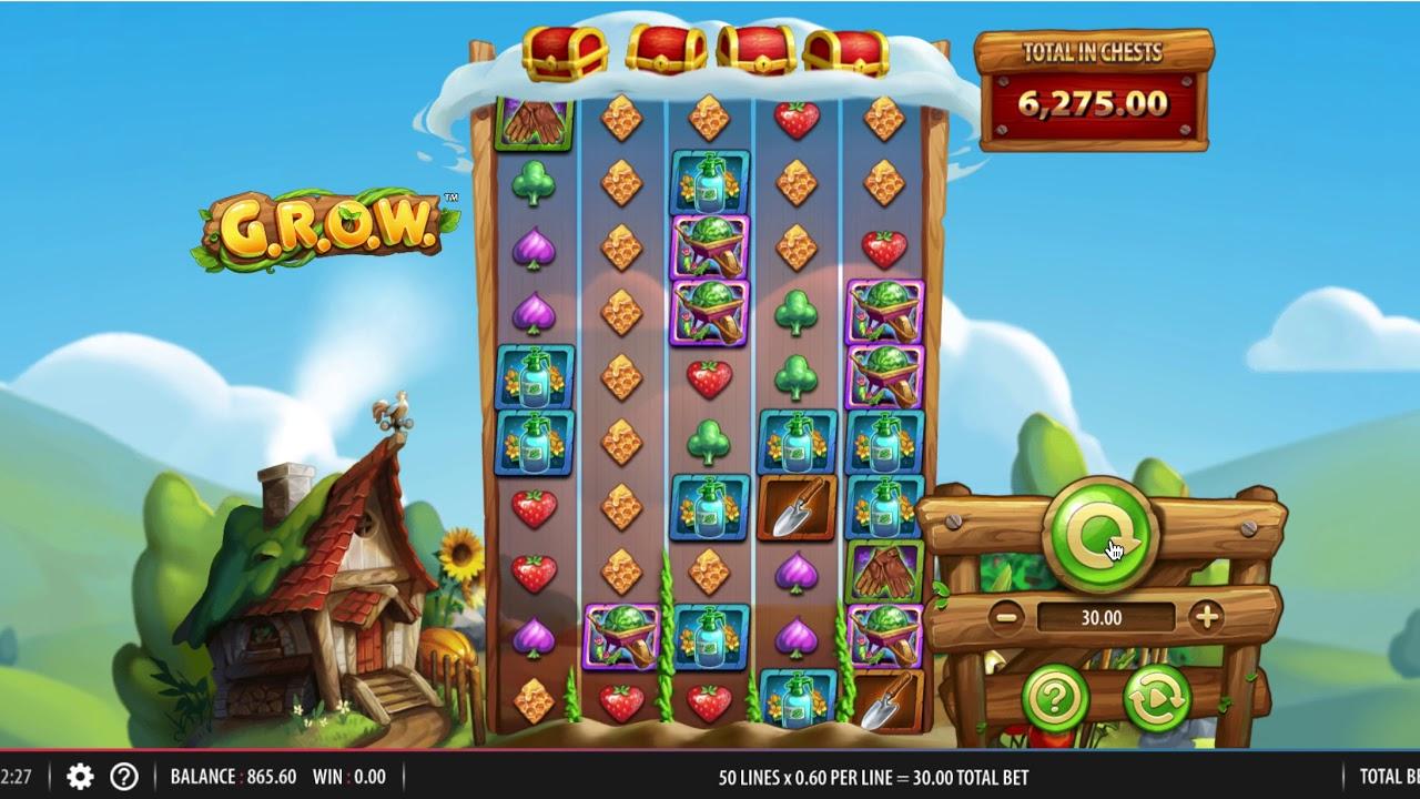G.R.O.W. Slots Online