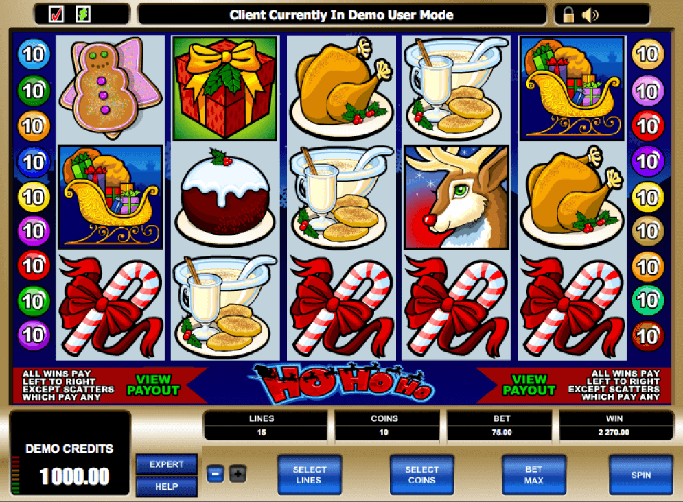 Ho Ho Ho Slot Game Play