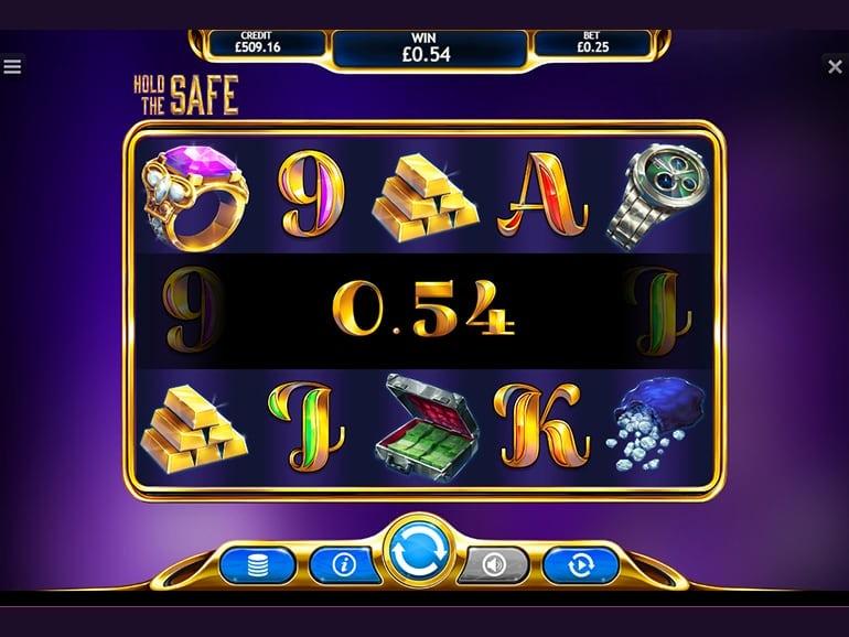 Hold The Safe Jackpot Slots Reels