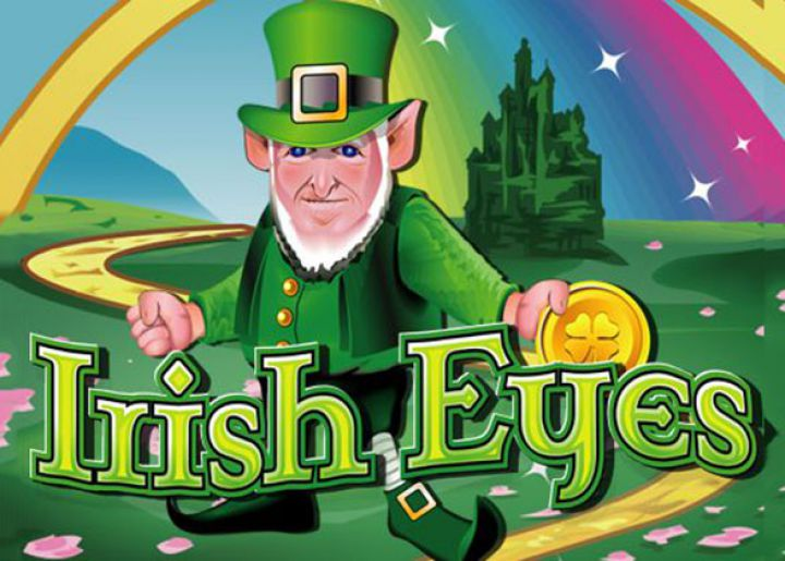 irish eyes slot logo