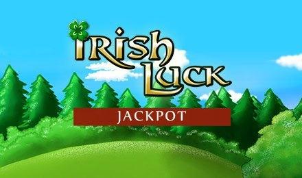 Irish Luck Jackpot slot logo