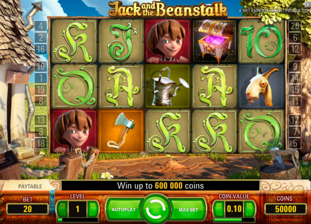 jack and the beanstalk umbingo casino