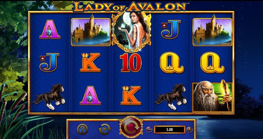 Lady of Avalon Slot Thor Slots